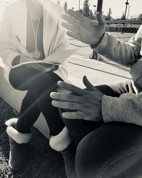 photo συνέντευξης